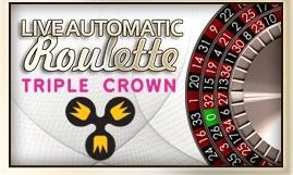 Fazi - Live Automatic Triple Crown Roulette